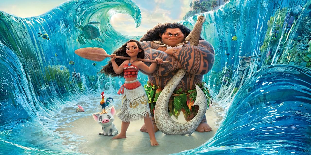 vestito maui oceania  Oceania: i protagonisti e il tutorial del costume di Vaiana ...