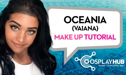 "Make Up Tutorial: Vaiana da ""Oceania"", Disney"