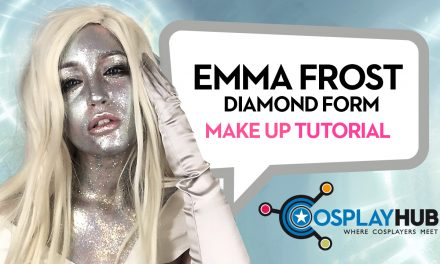 "Make Up Tutorial: Emma Frost ""Diamond"", Marvel Comics"