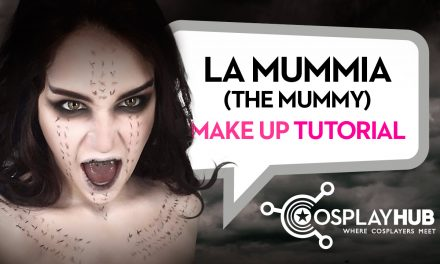 """Make Up Tutorial: """"La Mummia"""" (The Mummy)"""