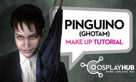 "Make Up Tutorial: Pinguino (""Gotham"", Fox Tv serie)"