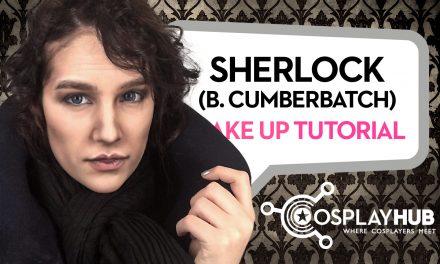 Make Up Tutorial: Sherlock (Benedict Cumberbatch)