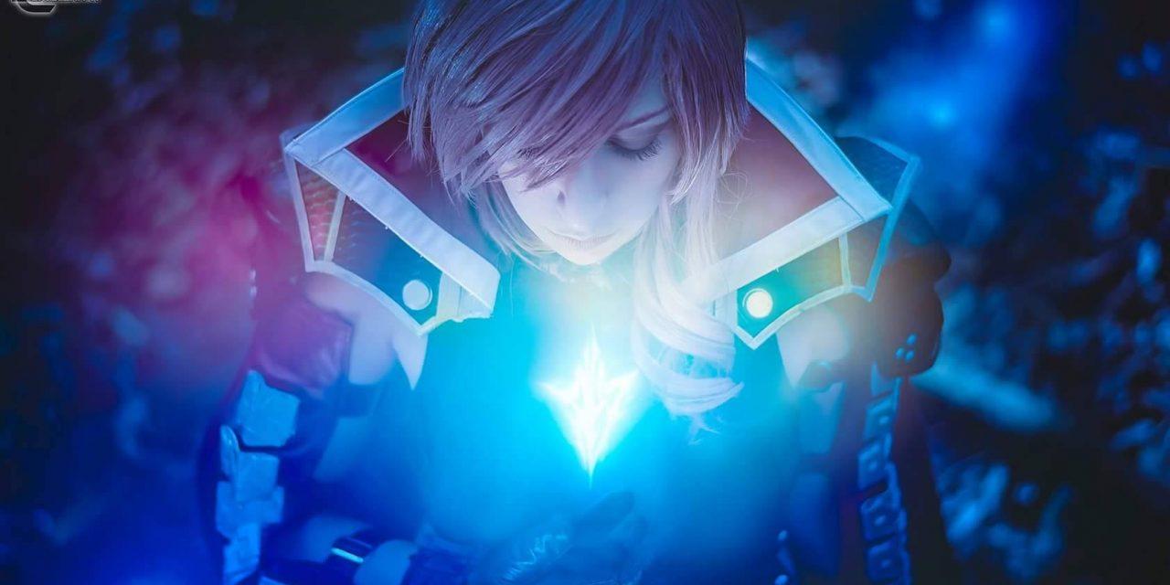 Tamara è Lightning, un cosplay più reale che mai