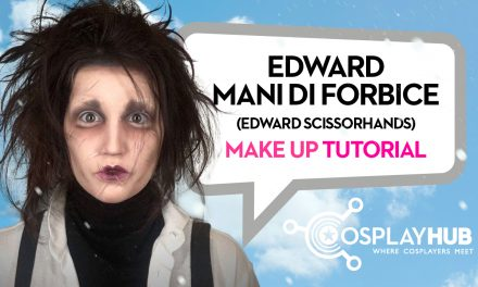Make Up Tutorial: Edward Mani di Forbice
