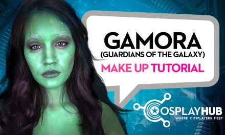 Make up Tutorial: Gamora (Guardiani della Galassia)