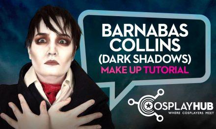 Make up Tutorial: Barnabas Collins (Dark Shadows)