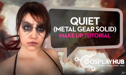 Make Up tutorial: Quiet, Metal Gear Solid