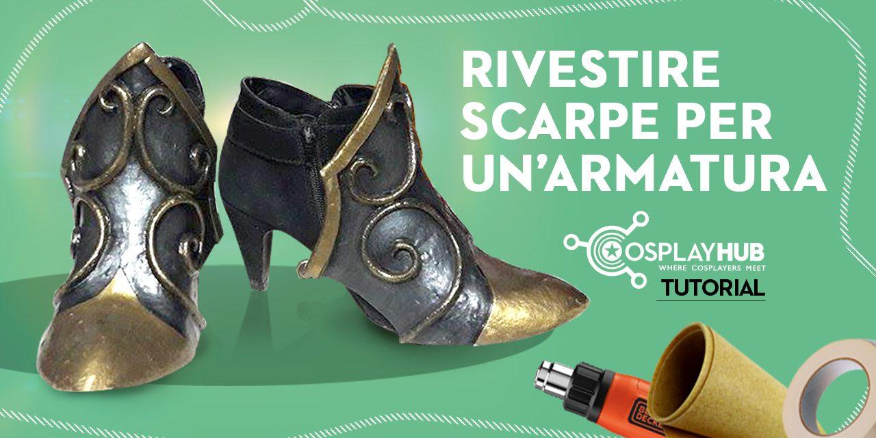 Tutorial: rivestire scarpe per un'armatura