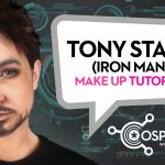 Make Up tutorial: Tony Stark (Robert Downey Jr), Iron Man