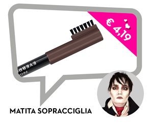 Barnabas Collins eyebrown