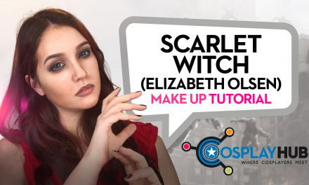 Make Up tutorial: Scarlet Witch, The Avengers