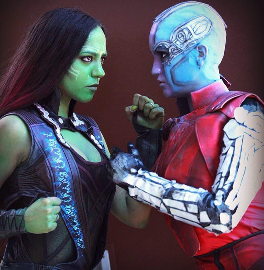 Guardiani della Galassia Sara Romanoff VS Mirella Santamaria