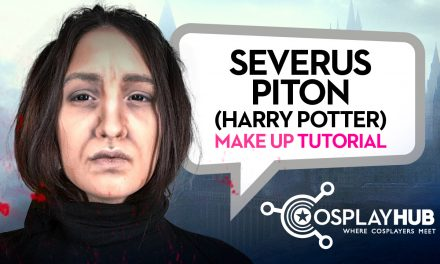 Make up Tutorial: Severus Piton (Alan Rickman)