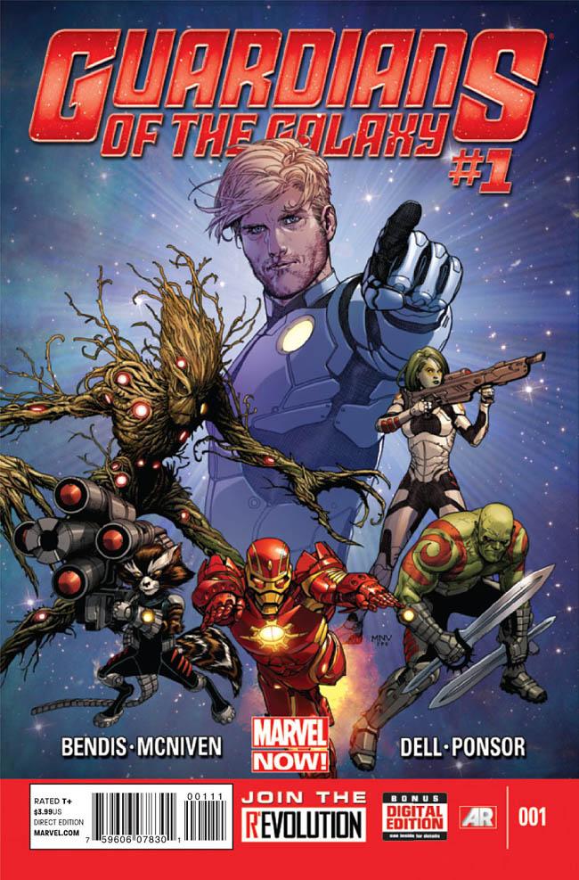 guardiani della galassia cover 1