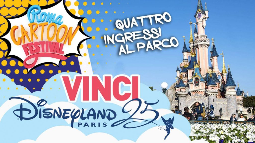 Roma Cartoon Festival Premio Disneyland Paris
