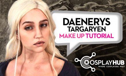 Make Up Tutorial: Daenerys Targaryen (Game of Thrones)