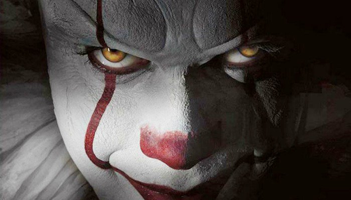 pennywise-make up