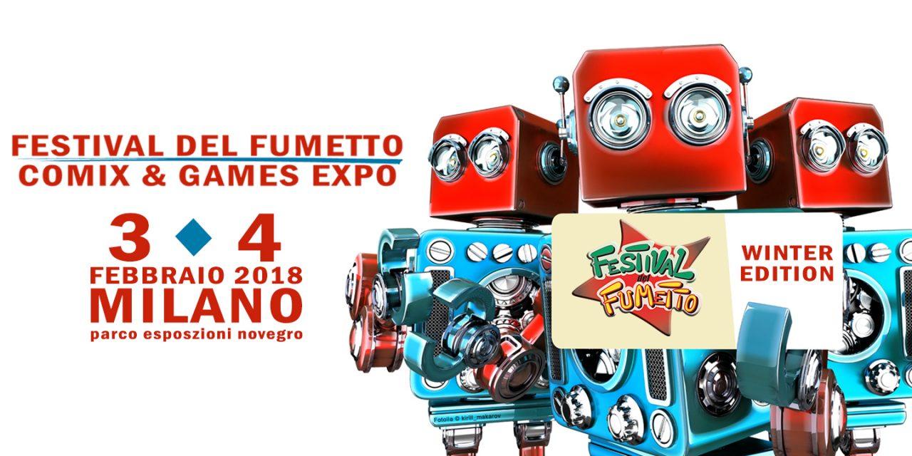 Festival del Fumetto – Winter Edition 2018