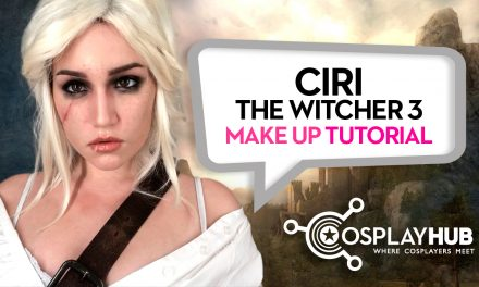 Make Up Tutorial: Ciri, The Witcher 3
