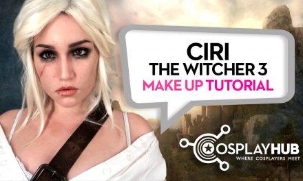 Make Up Tutorial: Ciri, The Witcher 3