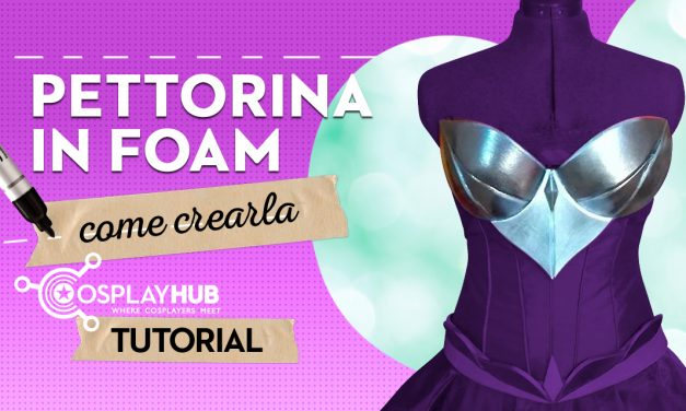 Pettorina in Foam: come crearla