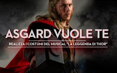 La Leggenda di Thor: Asgard ha bisogno dei migliori Cosplayer