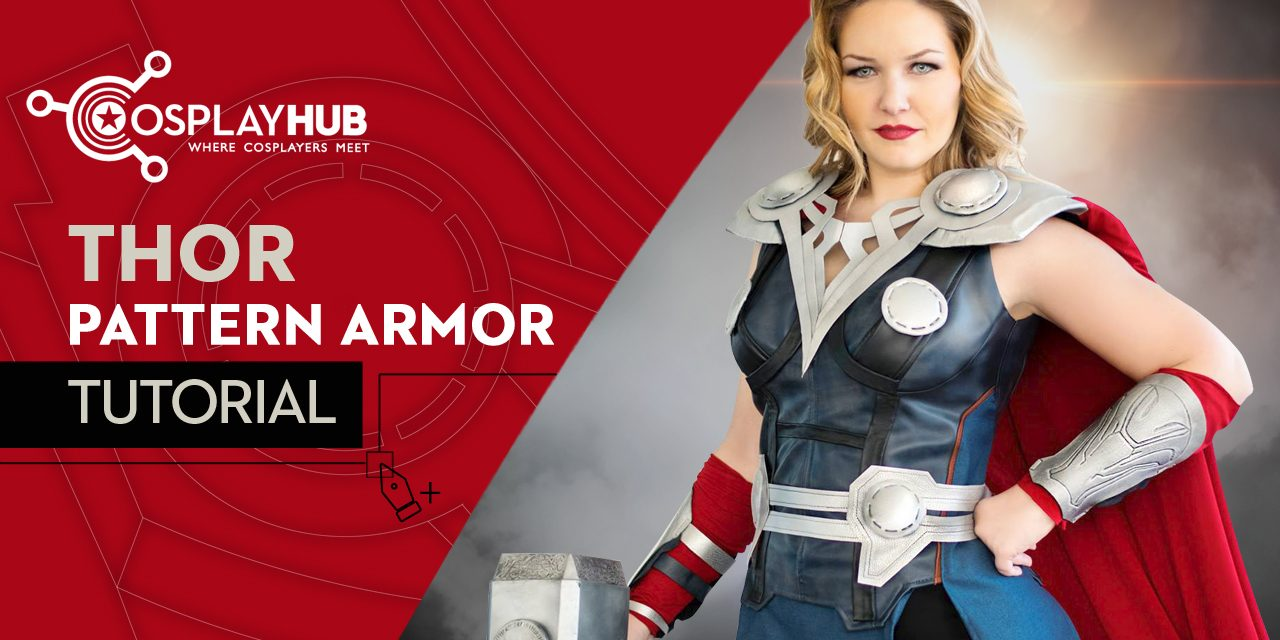 "Tutorial: Pattern armor Thor ""The Avengers"""
