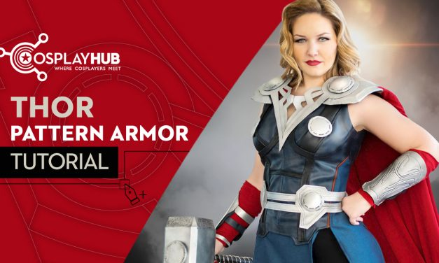 "Tutorial: Pattern armor Thor ""The Avengers"""